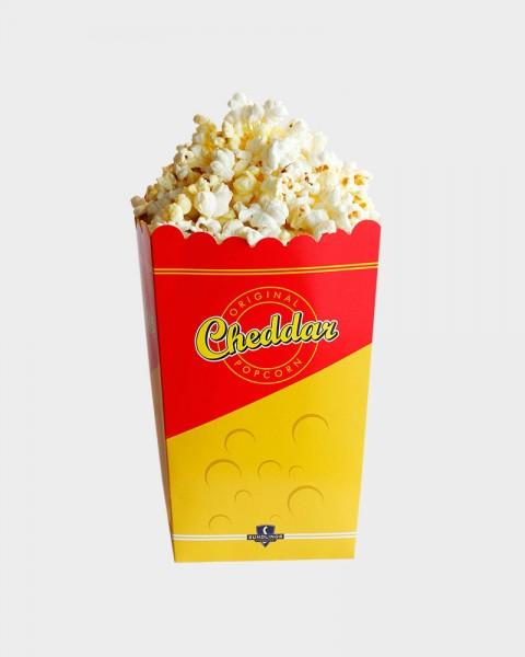popcornbägare cheddar från sundlings