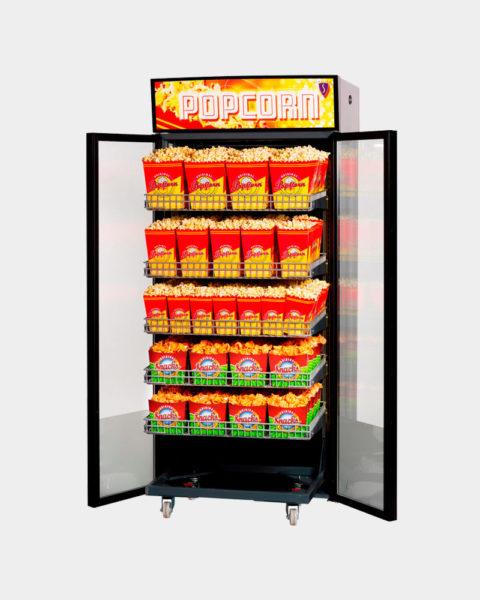 värmeskåp för popcorn från sundlings